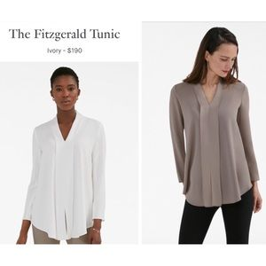🆕 MM.LaFleur—The Fitzgerald Tunic in Ivory